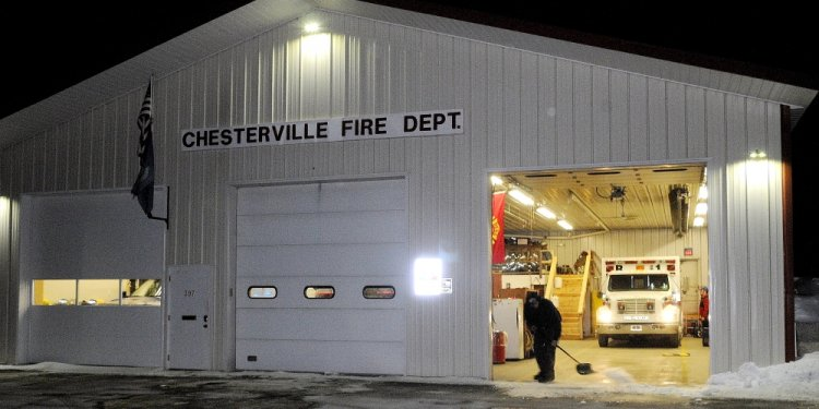 A Chesterville firefighter