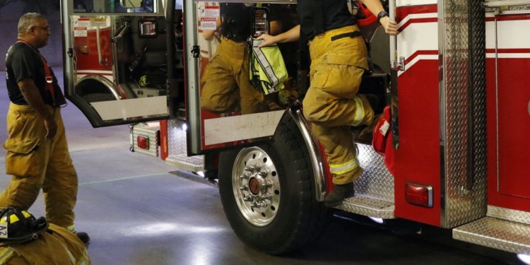 Female firefighters are few