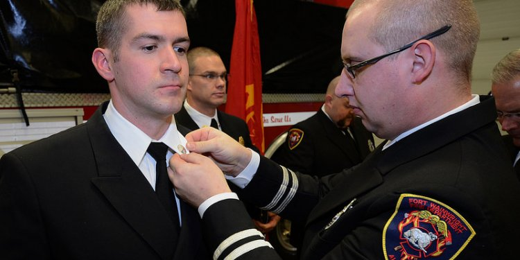 Fort Wainwright Fire Department Recognition and Recruit Promotion Ceremony