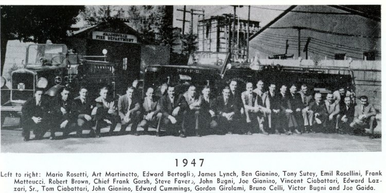 Meaderville Volunteer Fire Department, Meaderville, Montana (1947