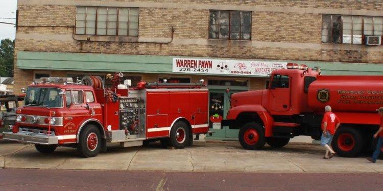 Of the volunteer firemen
