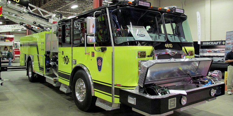 Scottsville Fire Department 4th Battalion Truck 4610