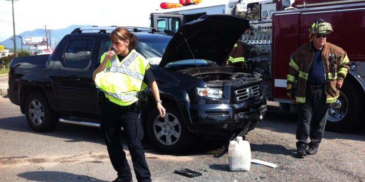 Accident Blocks Traffic