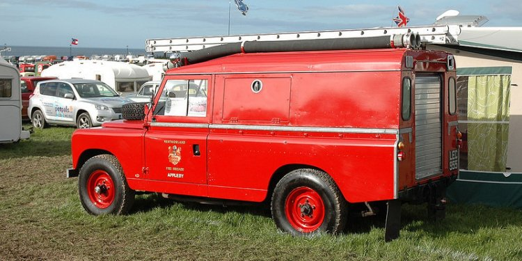 1963 Land Rover 109 - Westmoreland Fire Brigade