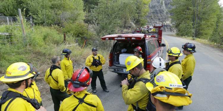 To wildland firefighting