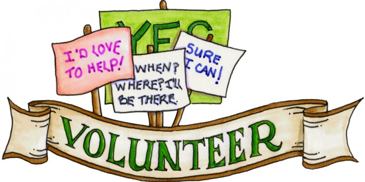 Becoming a volunteer is easy