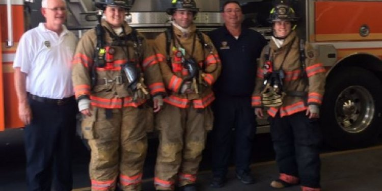 Wheeling FD welcomes 3 new