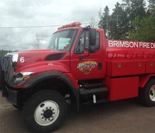 A grant helped the BAVFD replace a converted army truck. (Photo/Minnesota Department of All-natural sources)
