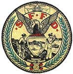 Color picture associated with the official seal associated with the bay area Fire division