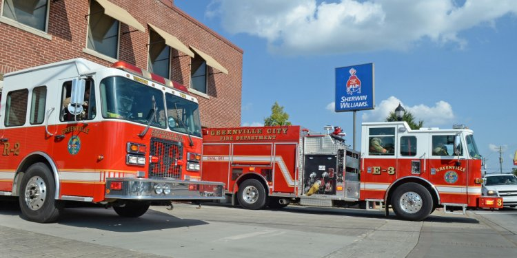 Fire Department Greenville SC