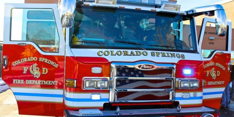 Colorado Springs Volunteer Fire Departments
