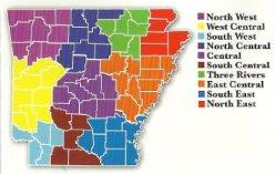 The Association is constructed of of ten districts throughout our state.