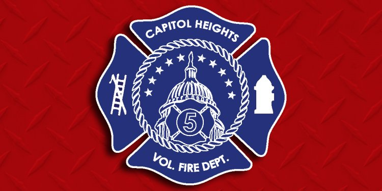 Volunteer firefighters DC