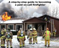 Steps to becoming a Fireman
