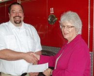 Volunteer Fire Departments Grants available